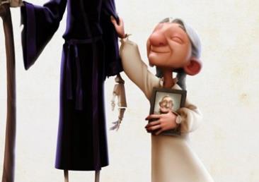 《老妇人与死神》最佳动画短片提名